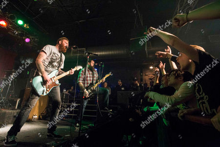 Dan O'Connor, Alan Day, Jake Massucco and Joe Weiss with Four Year Strong performs at the Masquerade, in Atlanta