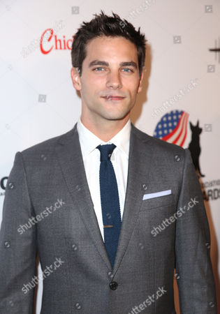 Brant Daugherty attends the American Humane Association's 4th Annual Hero Dog Awards at the Beverly Hilton Hotel, in Beverly Hills, Calif