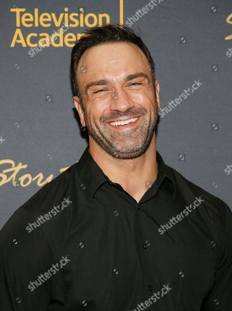 """Jeff Bosley attends the Got Your 6 """"Storytellers"""" event, in advance of Veteran's Day at the Television Academy's Wolf Theatre at the Saban Media Center, in North Hollywood, Calif"""