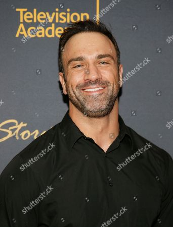"""Stock Image of Jeff Bosley attends the Got Your 6 """"Storytellers"""" event, in advance of Veteran's Day at the Television Academy's Wolf Theatre at the Saban Media Center, in North Hollywood, Calif"""