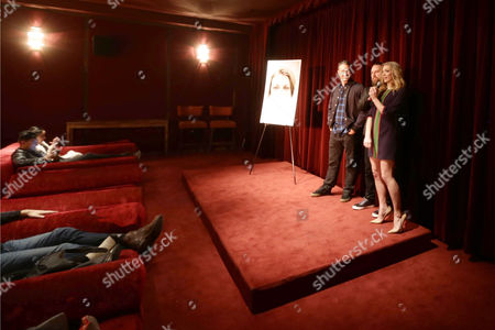 Exclusive - Director Jason Zada, Taylor Kinney and Natalie Dormer seen at Gramercy Pictures Special screening of 'The Forest', in West Hollywood, CA