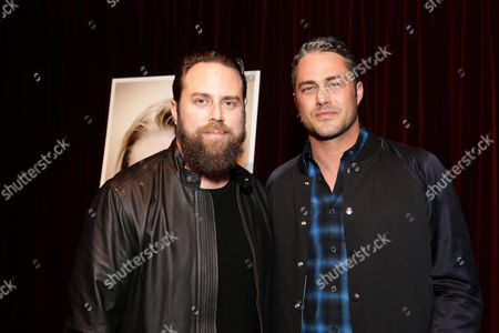 Exclusive - Director Jason Zada and Taylor Kinney seen at Gramercy Pictures Special screening of 'The Forest', in West Hollywood, CA