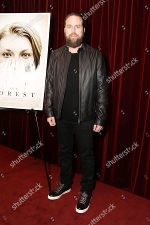 Exclusive - Director Jason Zada seen at Gramercy Pictures Special screening of 'The Forest', in West Hollywood, CA