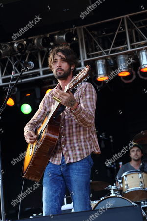 Ryan Bingham performs at The Hangout Festival on in Gulf Shores, Alabama