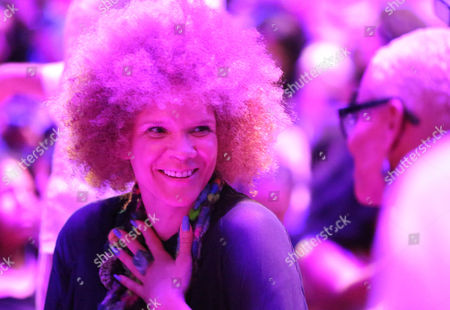 Michaela Angela Davis is seen at Harlem's Fashion Row 5th Anniversary Fashion Show, on in New York