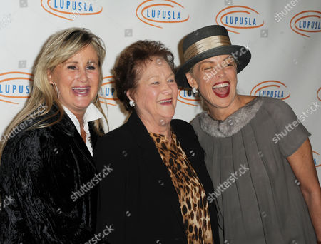 Stock Image of Kelly Stone, from left, Dorothy Stone, and Sharon Stone attend Lupus LA's Hollywood Bag Ladies Luncheon at the Beverly Wilshire Hotel, in Beverly Hills, Calif