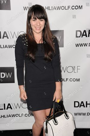 Stock Photo of Madeline Fuhrman arrives at the Hollywood debut of Dahlia Wolf, Fashion Made By You at the Graffiti Cafe on in Los Angeles