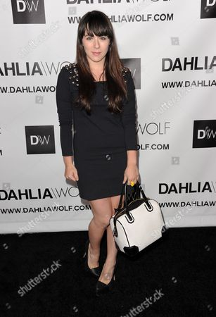 Editorial image of Hollywood Debut of Dahlia Wolf Fashion Made By You, Los Angeles, USA