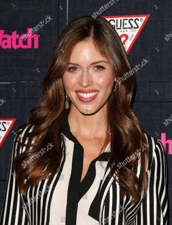 Kayla Ewell attends The Hollywood Denim Party at Palihouse, in West Hollywood