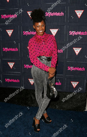 Stock Image of Daniele Watts attends The Hollywood Denim Party at Palihouse, in West Hollywood