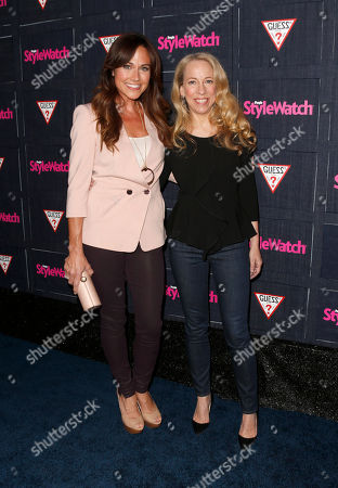 Nikki Deloach and Managing Editor of StyleWatch Susan Kaufman attend The Hollywood Denim Party at Palihouse, in West Hollywood