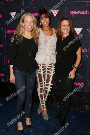 Managing Editor of StyleWatch Susan Kaufman, Dania Ramirez and Publisher of StyleWatch Stephanie Sladkus attend The Hollywood Denim Party at Palihouse, in West Hollywood