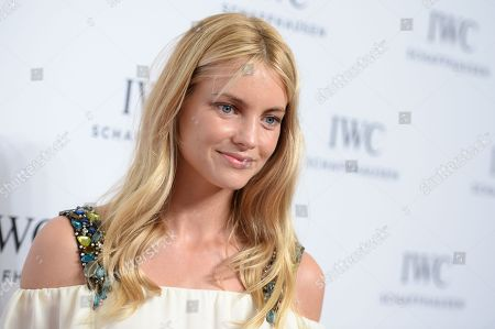 """Stock Picture of Model Elyse Taylor attends IWC Schaffhausen's """"For the Love of Cinema"""" Tribeca Film Festival gala dinner at Spring Street Studios, in New York"""