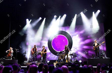 Editorial picture of Jason Mraz with Raining Jane in Concert - , Atlanta, USA