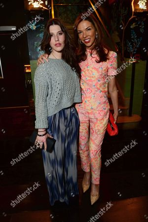Lily Lewis and Heather Kerzner seen at Johnnie Walker Blue Label Dinner at China Tang, The Dorchester on Wednesday, May, 15, 3013 in London