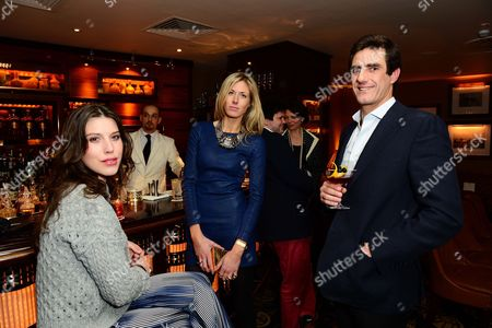 Lily Lewis, Ophelia Hohler and guest seen at Johnnie Walker Blue Label Dinner at China Tang, The Dorchester on Wednesday, May, 15, 3013 in London