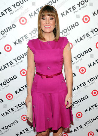 Vice president of Target communications, Dustee Tucker Jenkins attends a party to celebrate stylist Kate Young's collaboration with Target at Old School on in New York