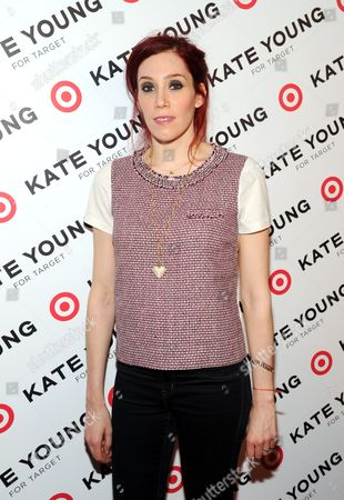 DJ Hesta Prynn attends a party to celebrate stylist Kate Young's collaboration with Target at Old School on in New York