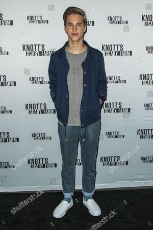 Ryan Beatty attends the Knott's Scary Farm Black Carpet event on in Buena Park, Calif