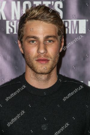 Cameron Fuller attends the Knott's Scary Farm Black Carpet event on in Buena Park, Calif