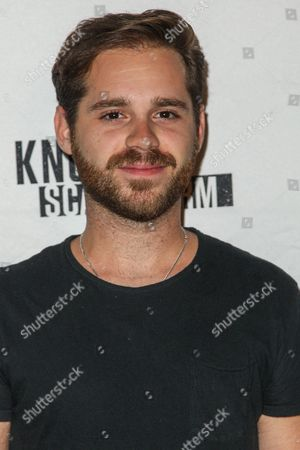 Stock Picture of Ryan Pinkston attends the Knott's Scary Farm Black Carpet event on in Buena Park, Calif