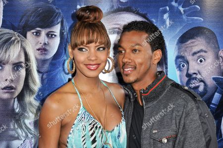 """Wesley Jonathan, right, arrives at the LA Premiere Of """"A Haunted House 2"""" on in Los Angeles"""