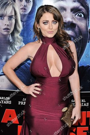 """Kirsty Hill arrives at the LA Premiere Of """"A Haunted House 2"""" on in Los Angeles"""