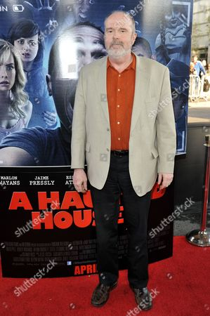 """Rick Overton arrives at the LA Premiere Of """"A Haunted House 2"""" on in Los Angeles"""