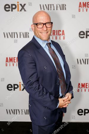 """Stock Image of Solly Granatstein arrives at the LA Premiere of """"America Divided"""" at The Billy Wilder Theater, in Westwood, Calif"""