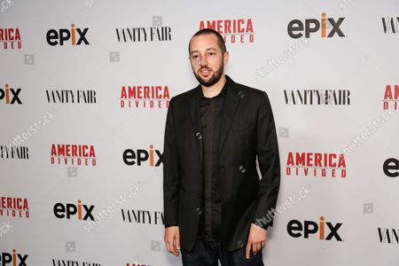"Stock Photo of Music artist J. Period arrives at the LA Premiere of ""America Divided"" at The Billy Wilder Theater, in Westwood, Calif"