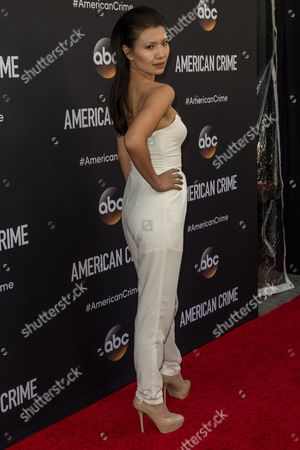 """Stock Picture of Gwendoline Yeo attends the LA Premiere of """"American Crime"""" on in Los Angeles"""