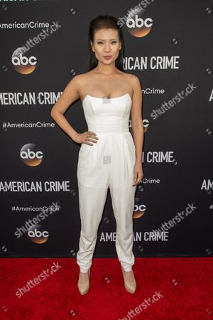 """Gwendoline Yeo attends the LA Premiere of """"American Crime"""" on in Los Angeles"""