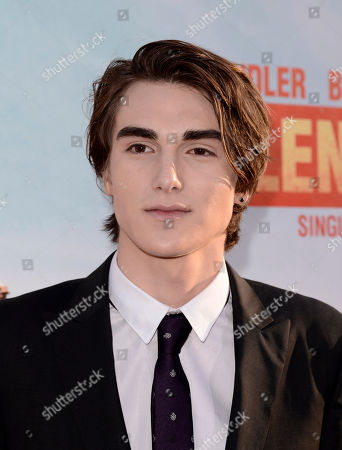 """Zak Henri arrives at the LA Premiere of """"Blended"""" at the TCL Chinese Theatre, in Los Angeles"""