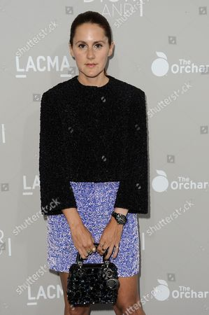 """Stock Picture of Nikki Pennie arrives at the LA Premiere Of """"DIOR & I"""" held at the Leo S. Bing Theatre, in Los Angeles"""