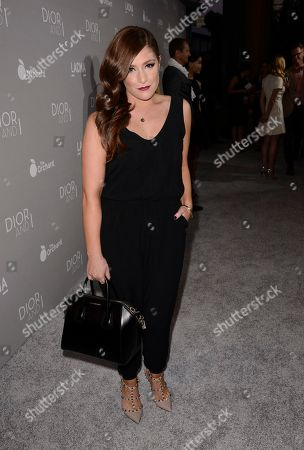 """Actress Mimi Gianopulos attends the Los Angeles premiere of the documentary film """"Dior & I"""" in Los Angeles on"""