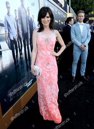 """Perry Reeves arrives at the Los Angeles premiere of """"Entourage"""" at the Westwood Regency Village Theatre on"""