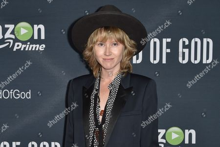 """Stock Picture of Krystal Simpson arrives at the Premiere of """"Hand of God"""" held at the Ace Hotel, in Los Angeles"""