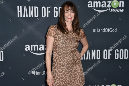 """Stock Photo of Sprague Grayden arrives at the Premiere of """"Hand of God"""" held at the Ace Hotel, in Los Angeles"""