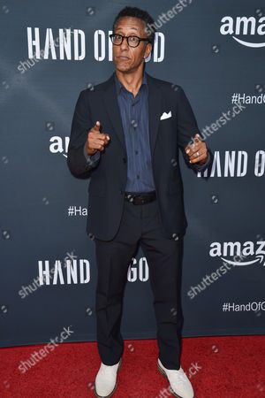 """Andre Royo arrives at the Premiere of """"Hand of God"""" held at the Ace Hotel, in Los Angeles"""