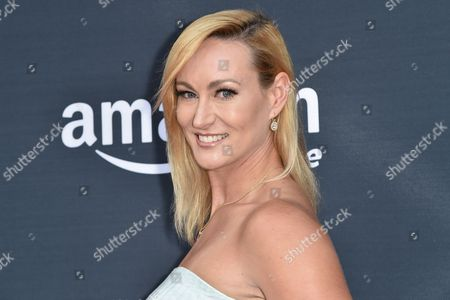 """Vanessa Cater arrives at the Premiere of """"Hand of God"""" held at the Ace Hotel, in Los Angeles"""