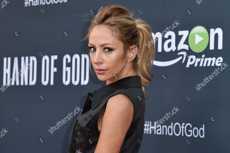 "Editorial picture of LA Premiere of ""Hand of God"" - Arrivals, Los Angeles, USA"
