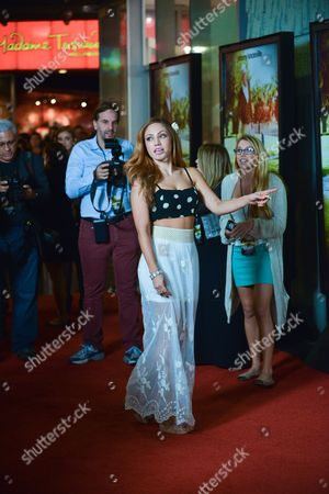 """Jade Bryce arrives at the premiere of """"Jackass Presents Bad Grandpa"""" at the TCL Chinese Theatre on in Los Angeles"""
