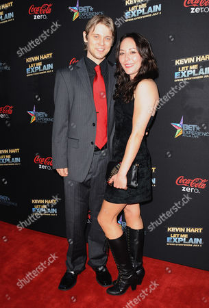 """J. Michael Trautmann arrives at the LA premiere of """"Kevin Hart: Let Me Explain"""" at the Regal Cinemas at L.A. Live on in Los Angeles"""