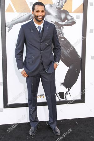 """Trae Ireland arrives at the Los Angeles premiere of """"Magic Mike XXL"""" at the TCL Chinese Theatre on"""
