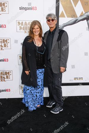 """Eliza Roberts and Eric Roberts arrive at the Los Angeles premiere of """"Magic Mike XXL"""" at the TCL Chinese Theatre on"""