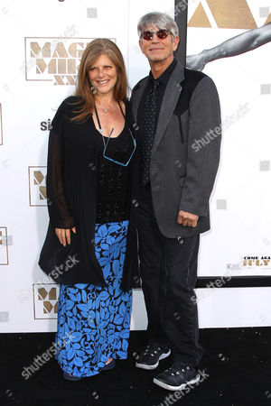 """Eliza Roberts, left, and Eric Roberts arrive at the Los Angeles premiere of """"Magic Mike XXL"""" at the TCL Chinese Theatre on"""