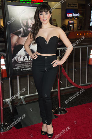 """Claire Sinclair attends the Los Angeles Premiere of """"Manny"""" at the TCL Chinese Theatre, in Los Angeles"""