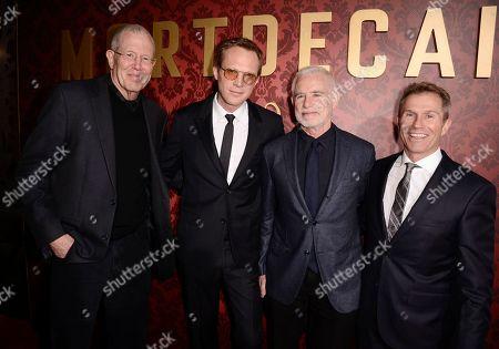 "Editorial image of LA Premiere Of ""Mortdecai"" - Red Carpet, Los Angeles, USA"