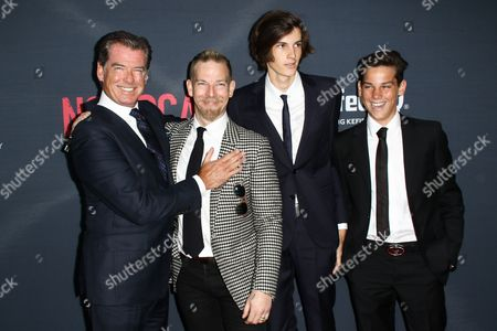 "Editorial photo of LA Premiere of ""No Escape"", Los Angeles, USA"