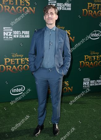 "Editorial photo of LA Premiere of ""Pete's Dragon"" - Arrivals, Los Angeles, USA"
